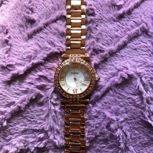Rose Gold Bebe Watch